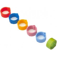 Rings plastic click pigeon 8mm - 100 pieces - Benelux 14471 Benelux 5,80 € Ornibird