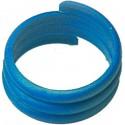 100 Bagues en plastique spirale pour poules 18mm - Bleu 14473BLAUW Benelux 8,40 € Ornibird