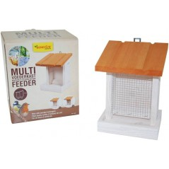 Maison d'alimentation multi feeder simple toit blanche - Benelux 17492 Benelux 13,65 € Ornibird