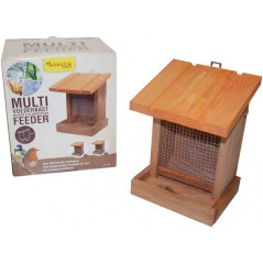 Maison d'alimentation multi feeder simple toit blanche - Benelux 17493 Benelux 13,65 € Ornibird