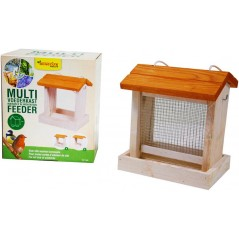 Maison d'alimentation multi feeder simple toit blanche - Benelux 17494 Benelux 14,60 € Ornibird