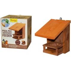 Maison d'alimentation pot détenteur, simple toit blanche - Benelux 17498 Benelux 14,60 € Ornibird