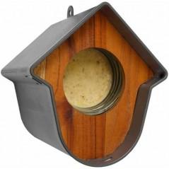 Evie Blanc porte beurre de cacahuètes + nichoir + maison - Benelux 17922 Benelux 6,69 € Ornibird