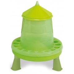 Mangeoire sur pieds basse-cours vert 8 kg - Gaun 24382 Gaun 13,99 € Ornibird