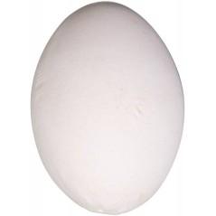 Oeuf factice en plastique pour poules 6 x 4 cm 24309 Benelux 1,10 € Ornibird