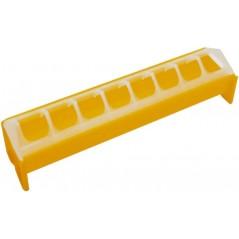 Alimentador de alambre de malla anti-residuos de plástico amarillo 7x40cm - Benelux 24591 Benelux 3,25 € Ornibird