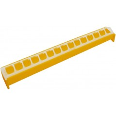 Mangeoire grillage anti-gaspillage en plastique jaune 7x50cm - Benelux 24593 Benelux 3,75 € Ornibird