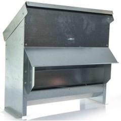 Mangeoire galvanisée large 18kg 2494 Benelux 68,79 € Ornibird