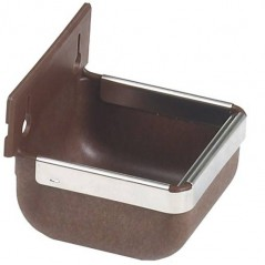 Mangeoire/Abreuvoir Nylon brun 300ml - Benelux 3422 Benelux 6,00 € Ornibird