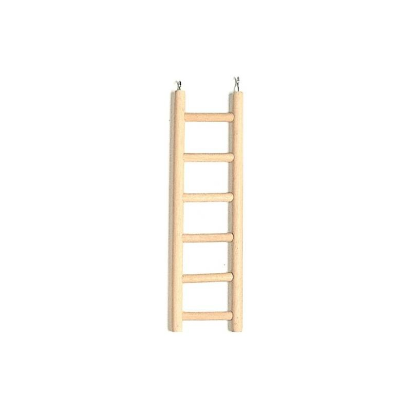 Perches, wooden ladder, 4 steps, 8,5x15cm 14392 Benelux 3,40 € Ornibird