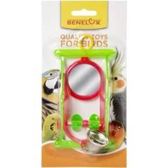 Perche double en plastique avec miroir 14039 Benelux 3,65 € Ornibird