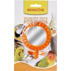 Perche double en plastique avec miroir 14041 Benelux 2,45 € Ornibird