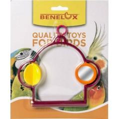 Perche double en plastique avec miroir 14042 Benelux 2,75 € Ornibird