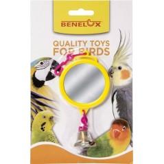 Miroir en plastique avec cloche 14044 Benelux 2,10 € Ornibird