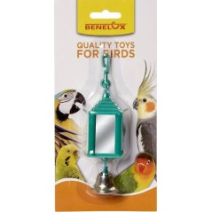 Perche double en plastique avec miroir 14046 Benelux 2,55 € Ornibird