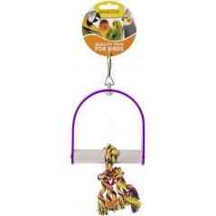 Perche en acrylique avec corde à noeuds 24 cm 14020 Benelux 5,85 € Ornibird