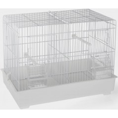 Cage Cova blanc 42 x 26 x 33cm 1560030 Domus Molinari 25,83 € Ornibird