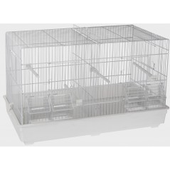 Cage Cova blanc 42 x 26 x 33cm 1560031 Domus Molinari 31,65 € Ornibird