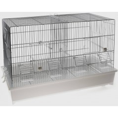 Cage Cova blanc 42 x 26 x 33cm 1560037 Domus Molinari 46,59 € Ornibird