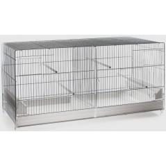 Cage Cova blanc 42 x 26 x 33cm 1560063 Domus Molinari 82,65 € Ornibird