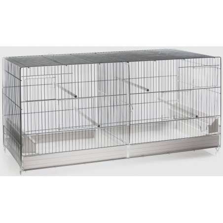 Cage Cova blanc 42 x 26 x 33cm