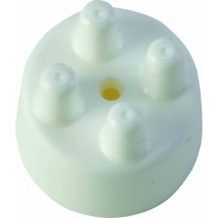 Embout en plastique perchoirs dia. 10mm Blanc I003/B S.T.A. Soluzioni 0,13 € Ornibird