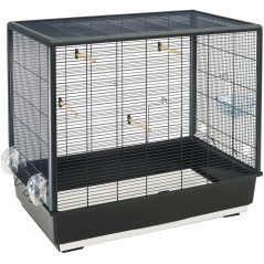 Cage Primo 60 Noir 80 x 50 x 70 cm - Savic 8298 Savic 99,95 € Ornibird