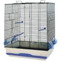 Cage pour petits oiseaux Ambra 56,5 x 36,5 x 74 cm