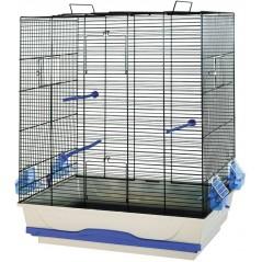 Cage pour petits oiseaux Ambra 56,5 x 36,5 x 74 cm 5482 Vadigran 56,45 € Ornibird