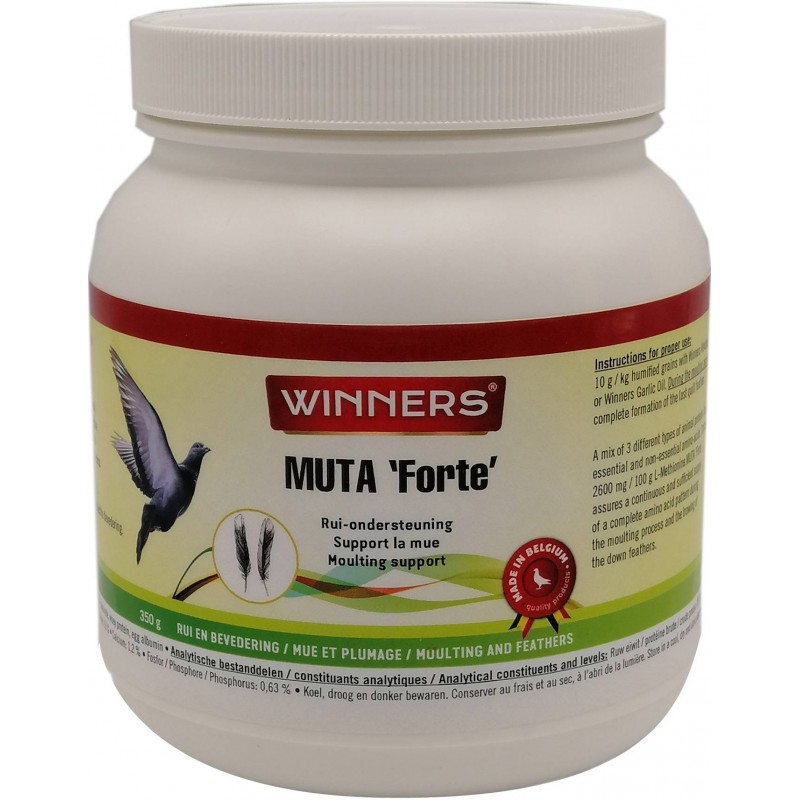 Muta Strong, a mixture of 3 types of protein 350gr - Winners 81188 Winners 21,35 € Ornibird