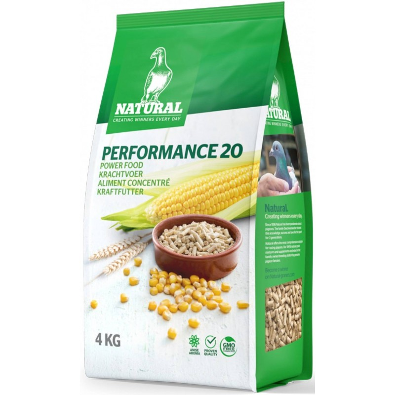 Natural Performance 20, concentrated food for pigeons - Natural Pigeons 30054 Natural 8,25 € Ornibird