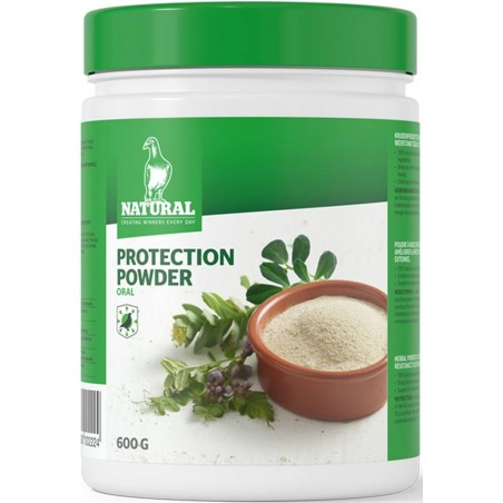 Protection Powder 600gr, poudre à base d'herbes - Natural Pigeons 201015 Natural 17,95 € Ornibird