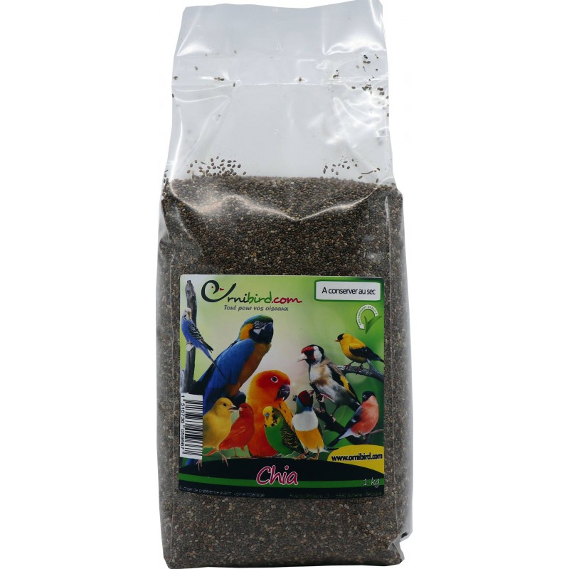 Chia seeds to the kg 103014250/kg Grizo 6,37 € Ornibird