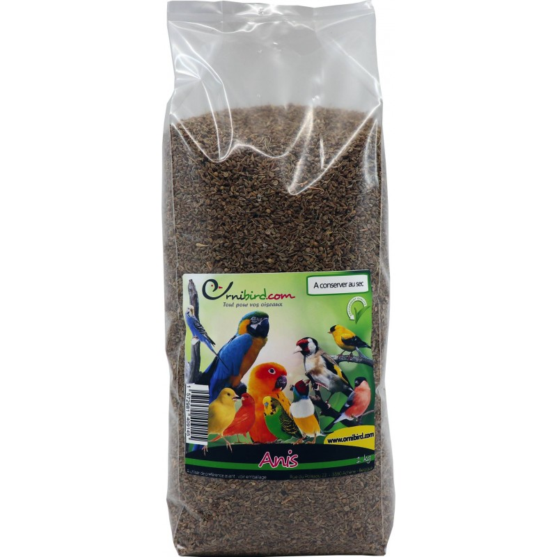 Graines d'Anis au kg - Ornibird 103001250/kg Grizo 7,95 € Ornibird