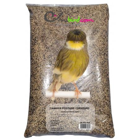 Mezcla de semillas para canarios de POSTURA, sin traslado de 20kg (PREMIO ESPECIAL) - Ornibird 7001201 Private Label - Ornibi...