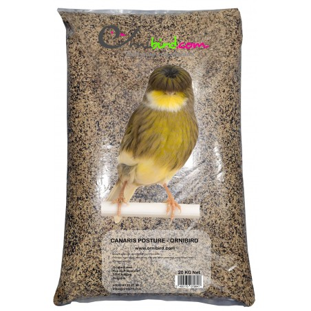 Mixture of seeds for canaries POSTURE without shuttle 20kg (SPECIAL PRIZE) - Ornibird 7001201 Private Label - Ornibird 22,95 ...