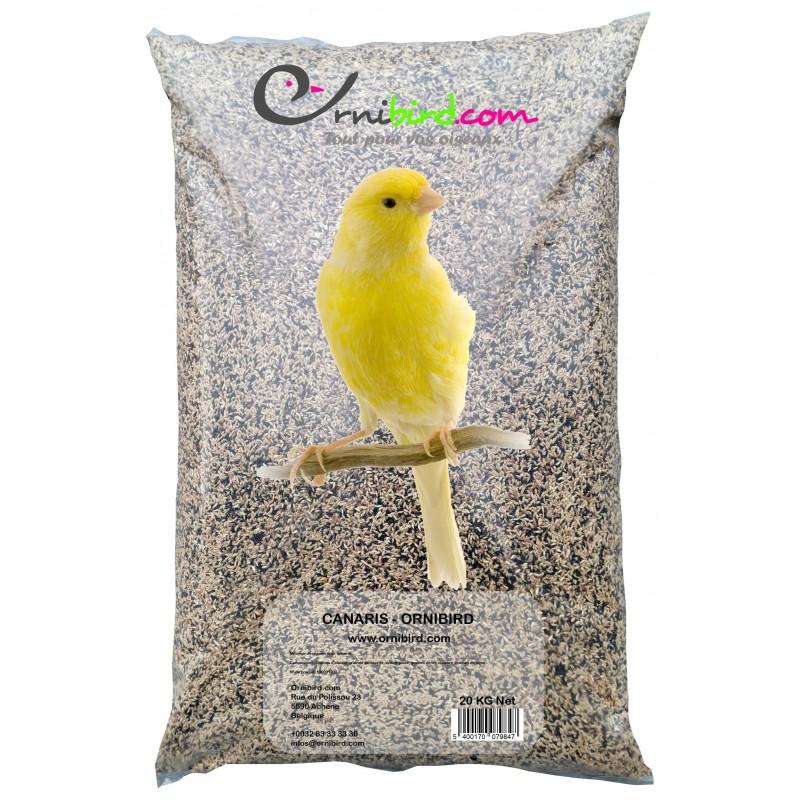 Canaris - Ornibird, mélange pour canaris 20kg 700120 Private Label - Ornibird 18,95 € Ornibird