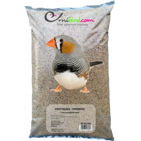 Exotiques - Ornibird, mélange pour exotiques 20kg