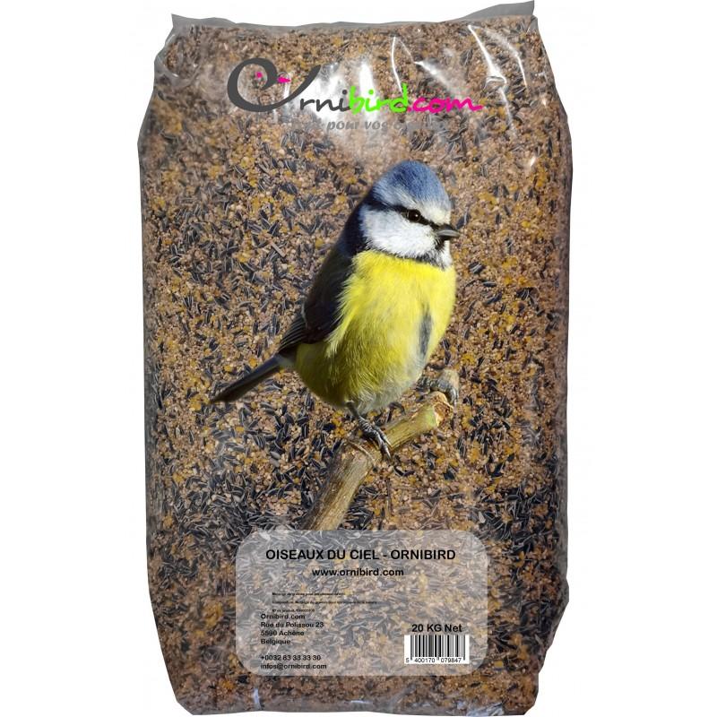 Oiseaux du Ciel - Ornibird, mélange pour les oiseaux de la nature 20kg 700125 Private Label - Ornibird 12,95 € Ornibird
