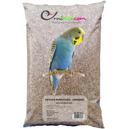 Petites Perruches - Ornibird, mélange pour petites perruches 20kg 700123 Private Label - Ornibird 14,95 € Ornibird