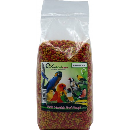 Perle Morbide Fruit Rouge 800gr - Ornitalia