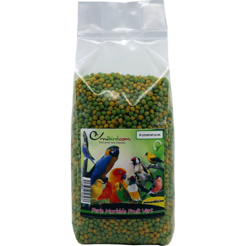 Perle Morbide fruit vert 800gr - Ornitalia 103111000 Ornitalia 10,07€ Ornibird