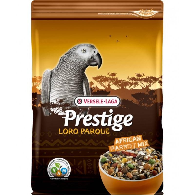 African Parrot Mix 1kg, mélange de graines + granulés VAM - Perroquets Africains - Prestige Loro Parque 422201 Prestige 4,36...
