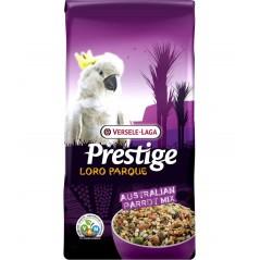 Australian Parrot Mix 15kg, mélange de graines + granulés VAM - Perroquets Australiens - Prestige Loro Parque 422213 Prestige...