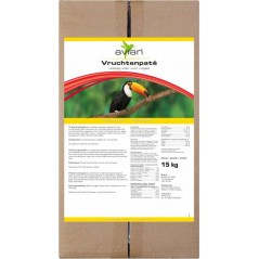 Vruchtenpaté / Frugivore Diet 15kg - Avian 13384 Avian 87,50 € Ornibird