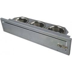 Mangeoire à plateau tournant 3 bols 89330131 Private Label - Ornibird 24,95 € Ornibird