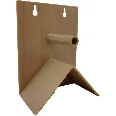 Perchoir individuel anti-picage en plastique grand 13 x 10 cm