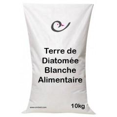 Terre de Diatomée alimentaire Blanche 10kg - Ornibird
