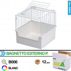 Baignoire externe en métal avec porte - Carton de 12 pièces - S.T.A Soluzioni B006/BOX S.T.A. Soluzioni 78,00 € Ornibird