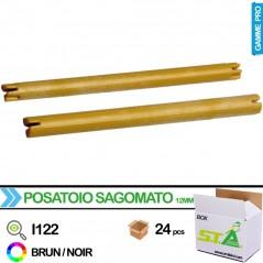 Perchoir 12mm x 17cm - Carton de 24 pièces - S.T.A Soluzioni